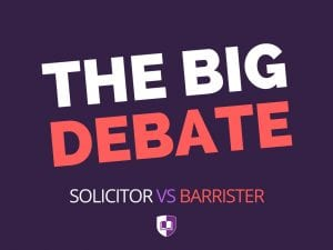 solicitor or barrister