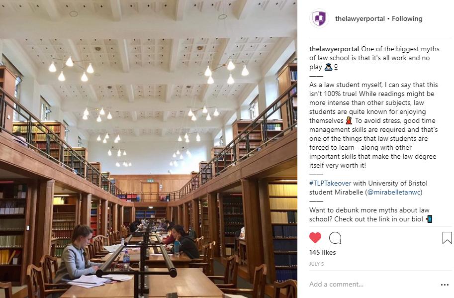 the lawyer portal instagram